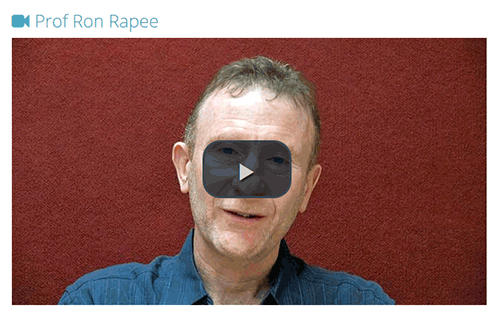 Video of Ron Rapee